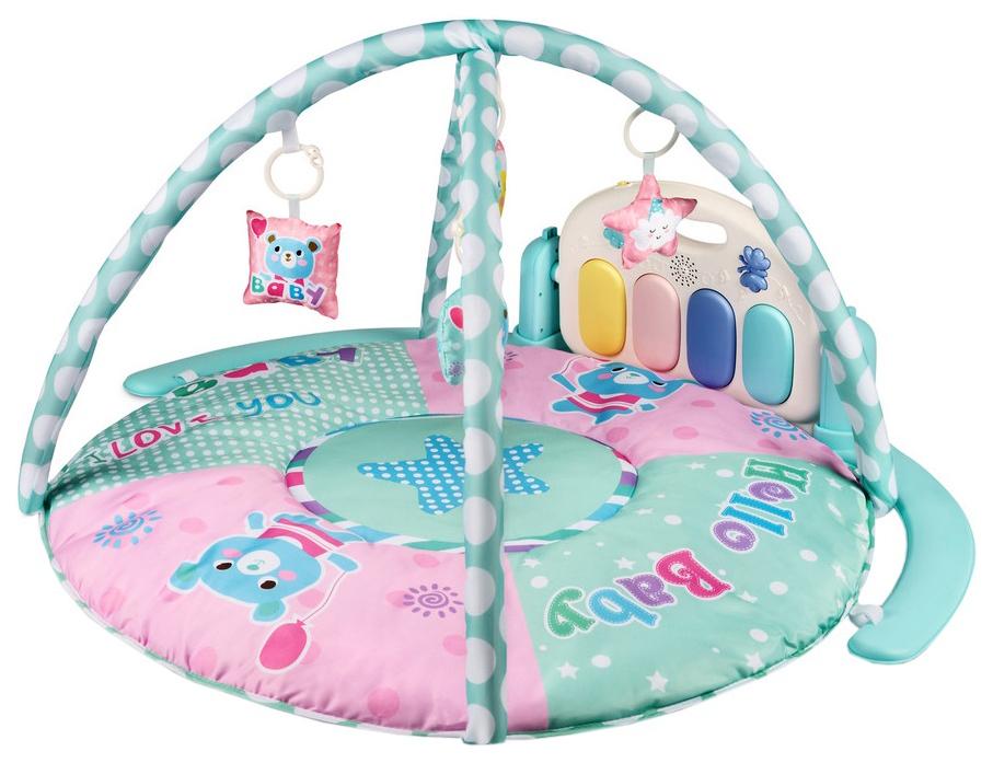 Развивающий коврик для детей Amarobaby 95x95x45 Медведь