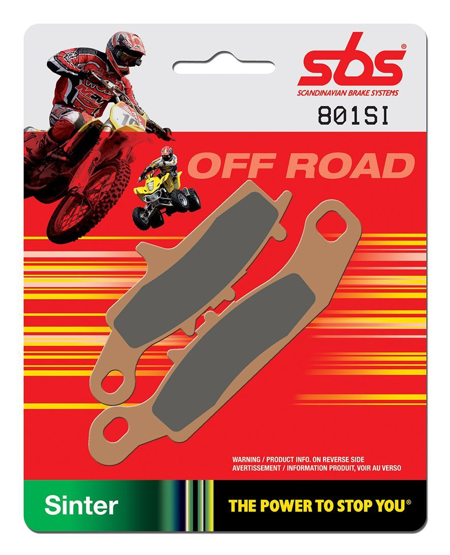Тормозные колодки передние SBS 801SI для мотоциклов