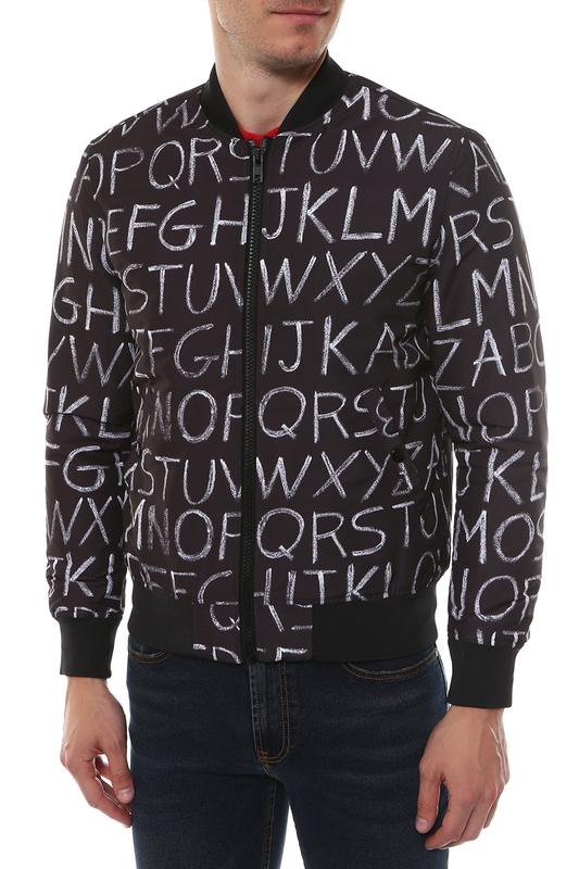 Куртка мужская Love Moschino M H 712 00 T 9142 черная 48 IT