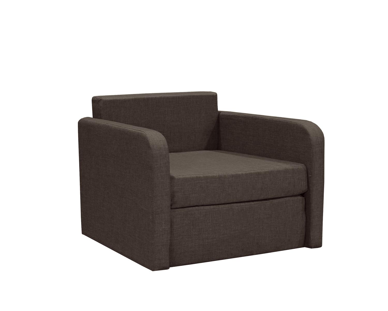 Кресло кровать Бит Куба шоколад