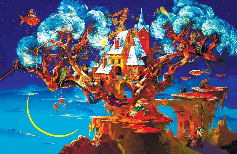 Деревянный пазл DaVICI Дерево сновидений 193 деталей