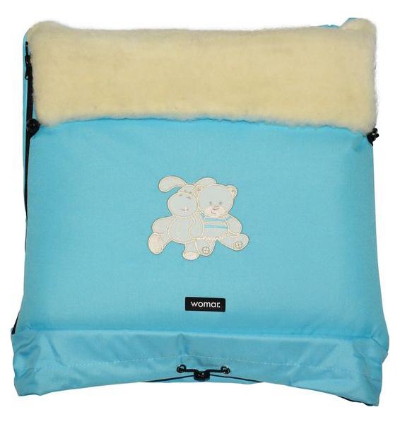 Купить Спальный мешок в коляску Womar Multi Arctic №20 8 Бирюзовый, Конверты в коляску