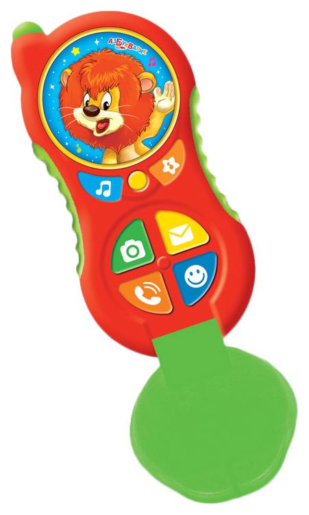 Интерактивная игрушка Азбукаврик Телефончик Львенка 28183-4