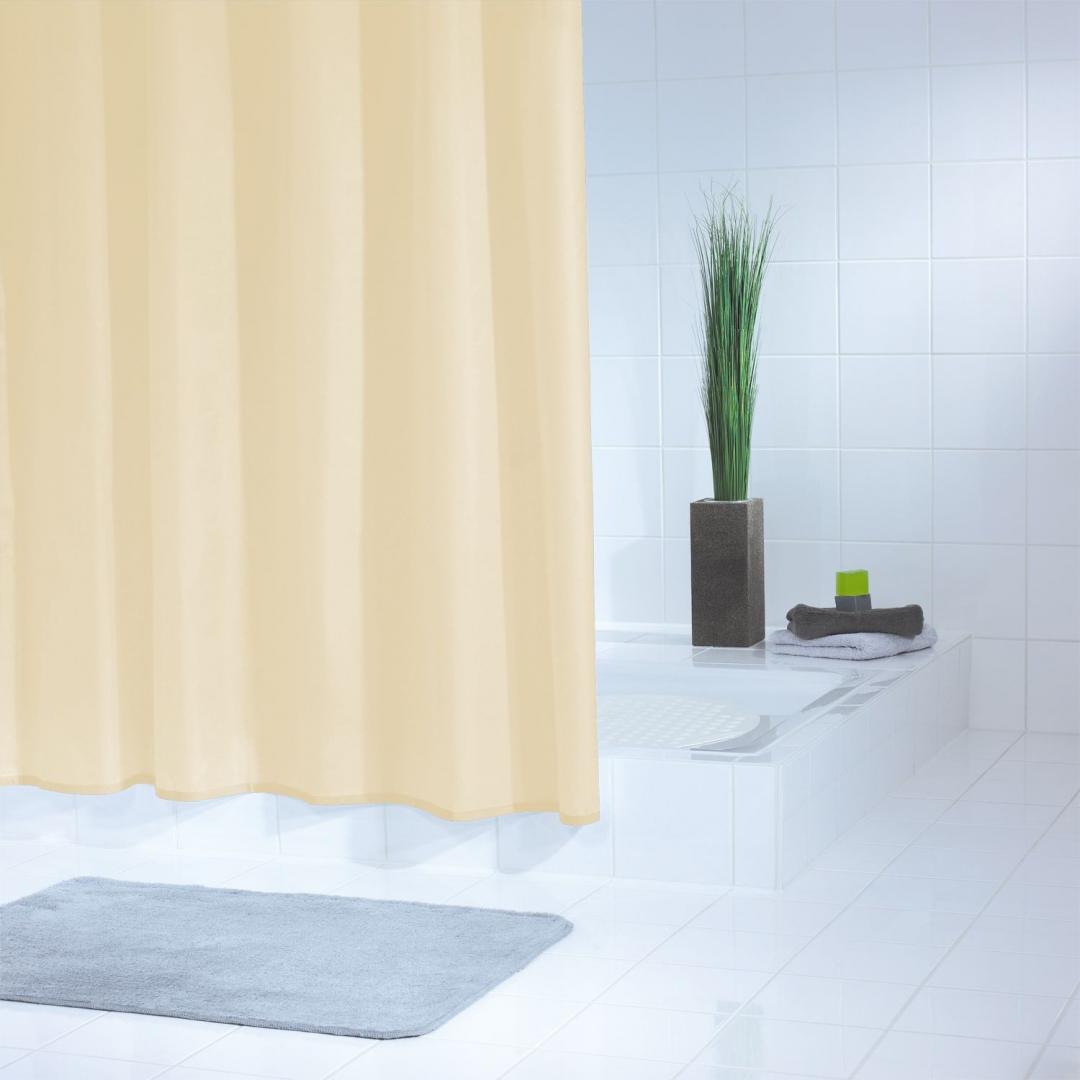 Штора для ванных комнат Standard бежевый/коричневый 180*200