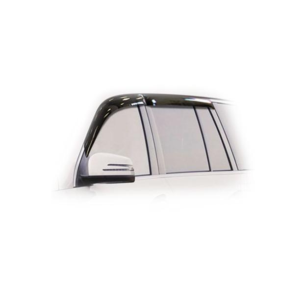 Дефлекторы на окна CA Plastic для Mercedes-Benz GL 2013–2015 полупрозрачный