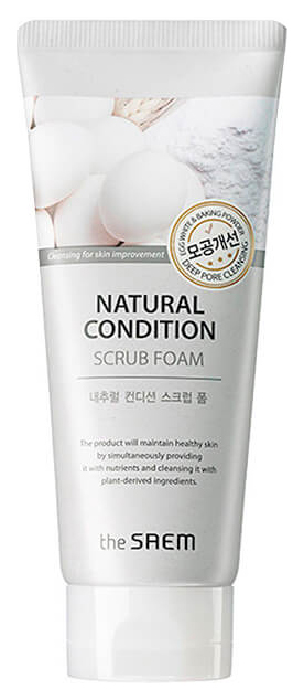 Пенка для умывания The Saem Natural Condition Scrub