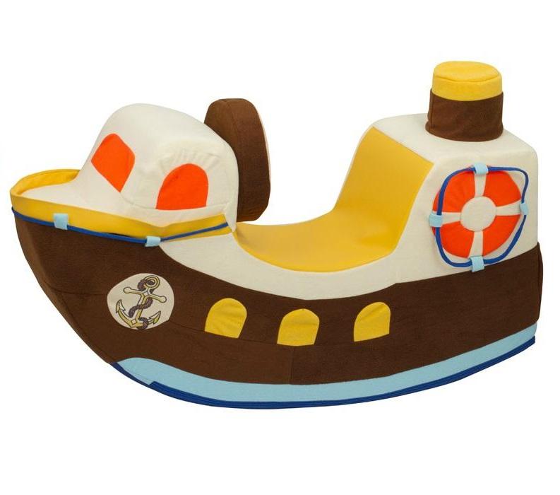 Купить Детская качалка Кораблик Paremo PCR816-01, Качалки детские