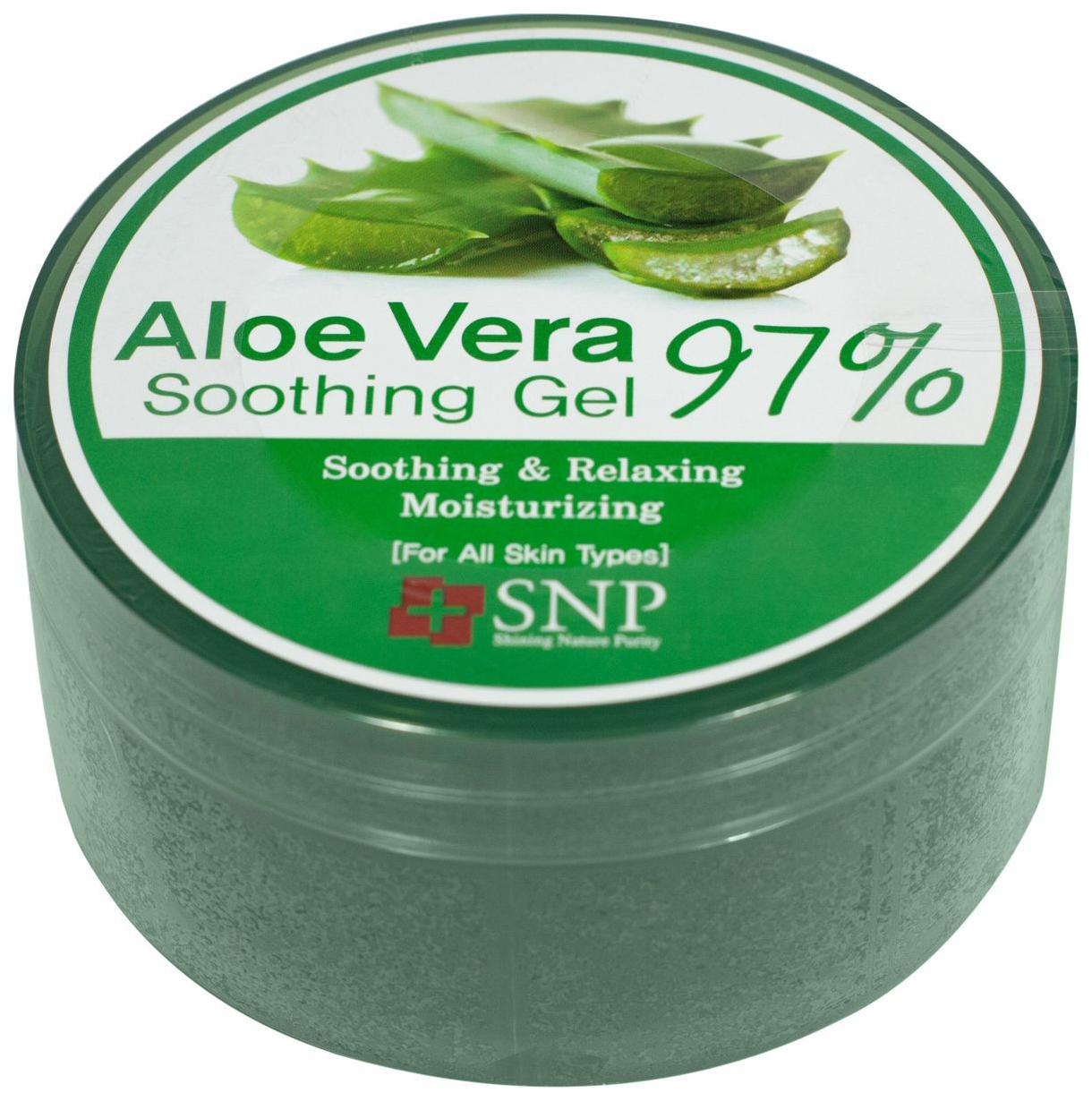 Гель для лица SNP Aloe Vera 97% Soothing Gel 300 г