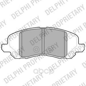 Тормозные колодки дисковые DELPHI LP2038 фото