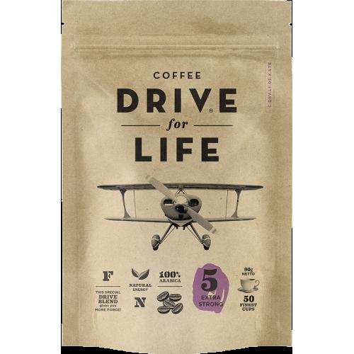 Кофе растворимый живой Drive for Life extra strong 90 г фото