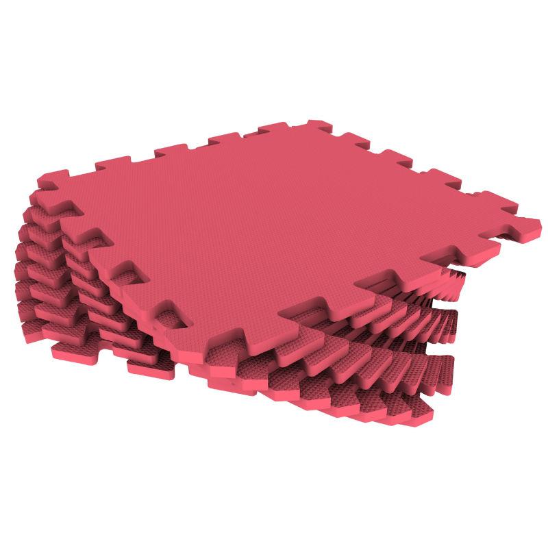 Развивающий коврик Eco Cover 60*60 см красный