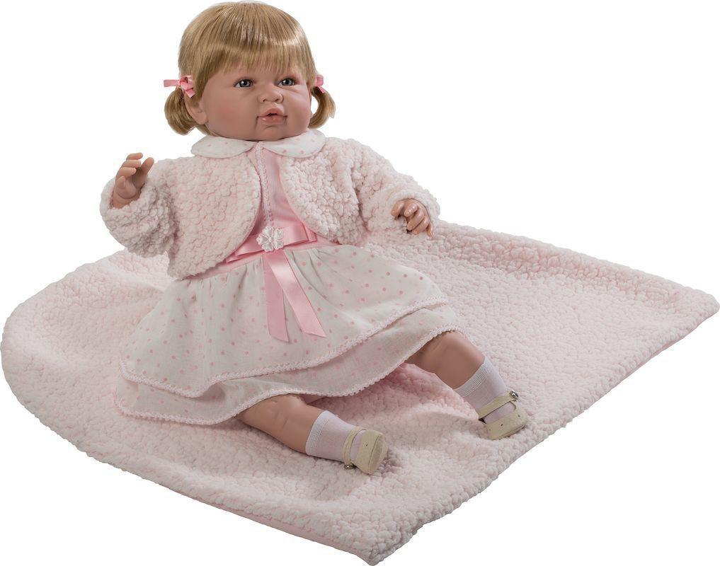 Купить Кукла Berbesa мягконабивная 50 см SARA (5207R), Munecas Berbesa, Классические куклы