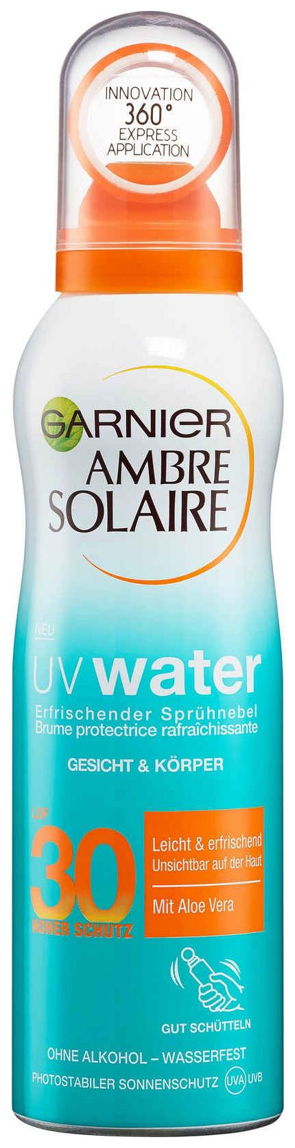 Солнцезащитный спрей-вуаль для лица и тела Garnier SPF 30 200 мл