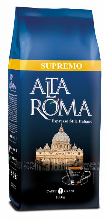 Кофе в зернах Alta Roma supremo 1 кг
