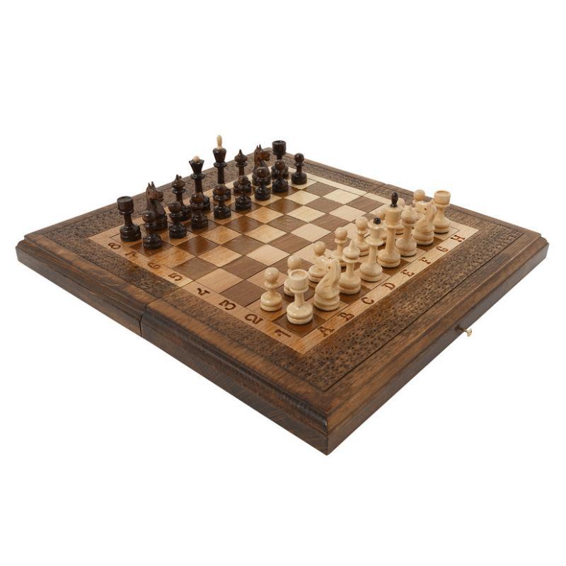 Купить Шахматы и Нарды резные Haleyan 30