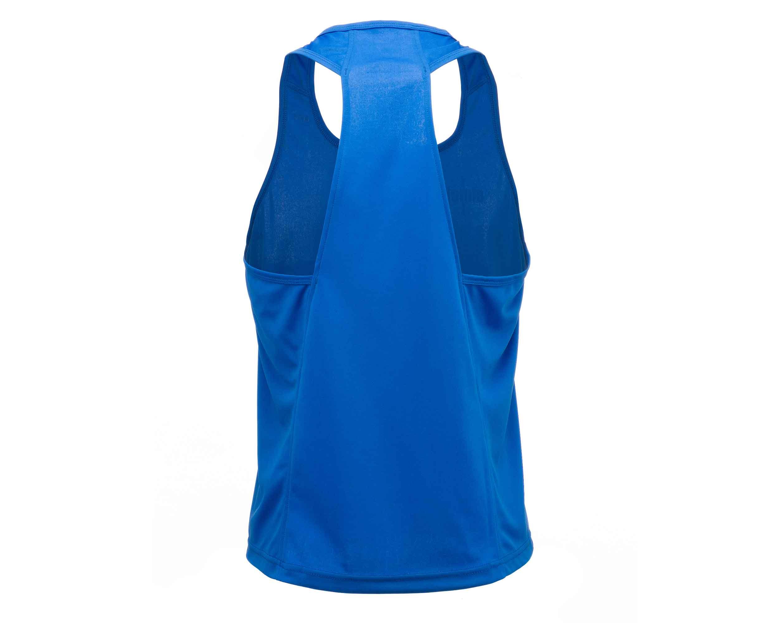 Майка боксерская Adidas Clinch Olimp синяя 164