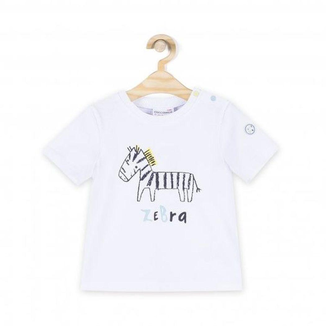 Купить W181432M4MEL, Футболка для мальчиков COCCODRILLO р.68, Детские футболки, топы