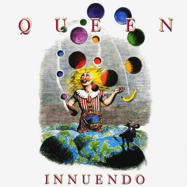 Queen Innuendo (CD) Медиа