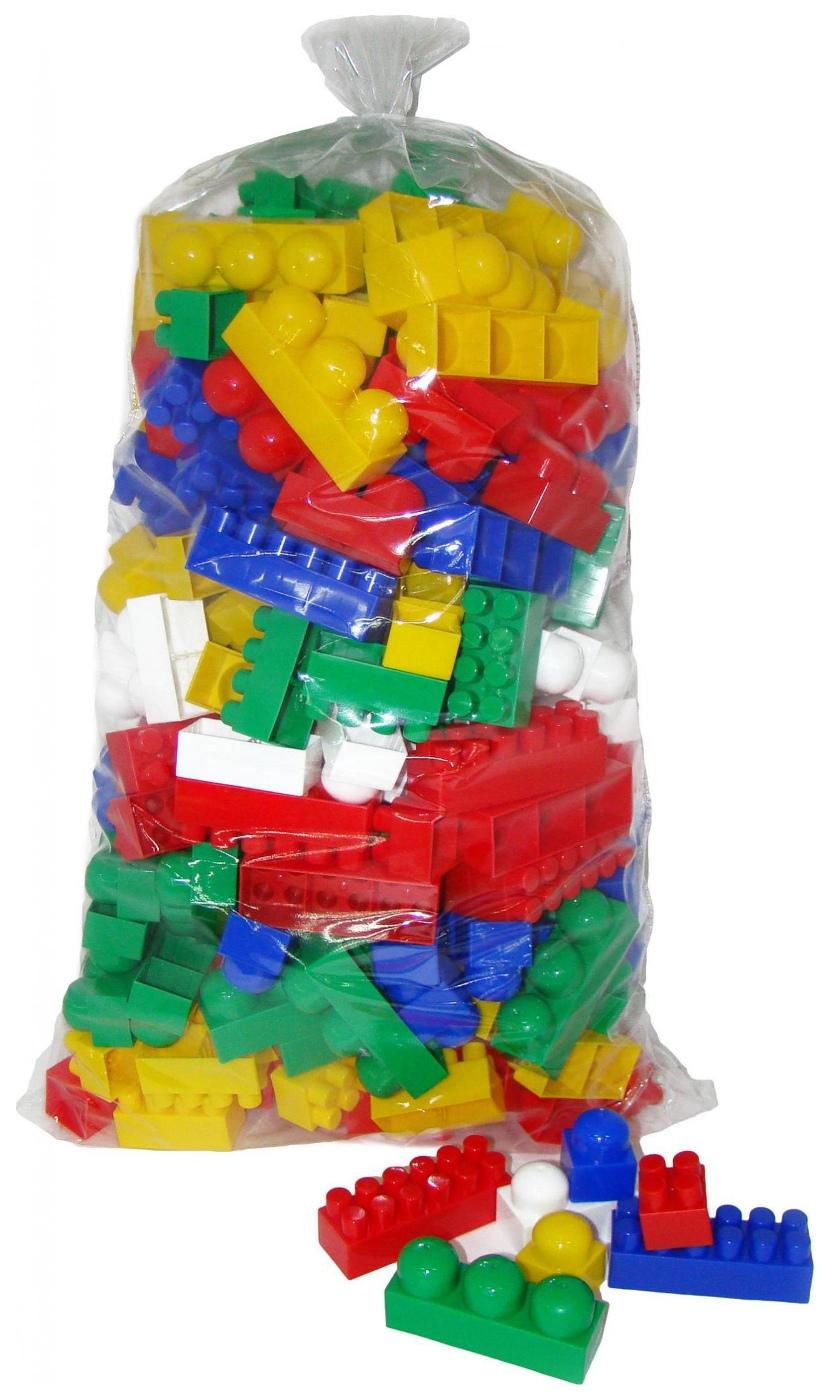 Купить Игрушки, Конструктор Полесье Супер-Микс 240 деталей в мешке, Конструкторы пластмассовые