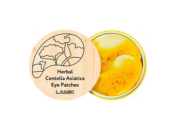 Патчи для глаз L.Sanic Herbal Centella Asiatica