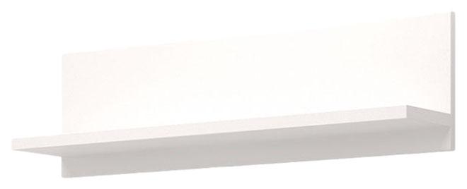 Настенная полка Ижмебель Виктория 41, белый