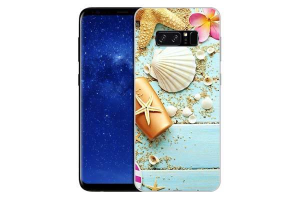 Чехол Gosso Cases для Samsung Galaxy Note 8 «Пляжный натюрморт»