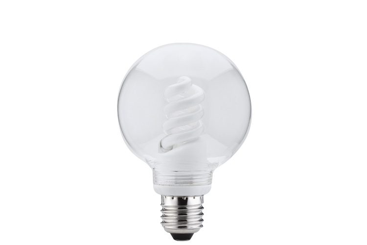 Лампа энергосбер. 10W E27 D=80 прозрачный 87026