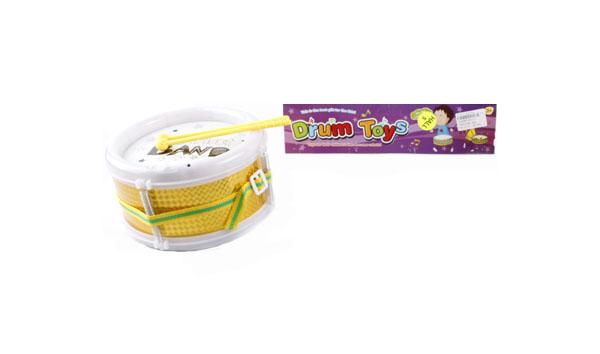 Купить Барабан игрушечный Shantou yellow/8310-1, Shantou Gepai, Детские музыкальные инструменты