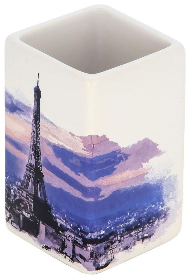 Стакан для зубных щеток Рыжий Кот Париж 2906 фото