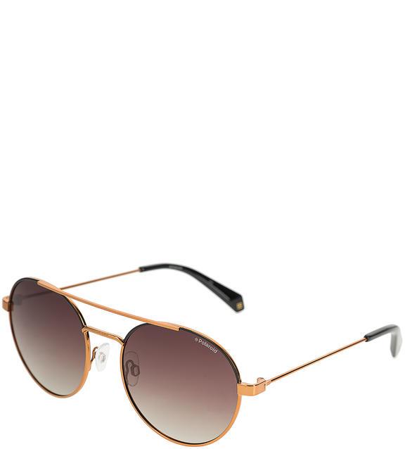 Солнцезащитные очки унисекс Polaroid PLD 6056/S YYC LA, коричневый фото