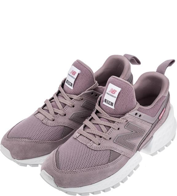 Женские кроссовки New Balance WS574TEA/B фиолетовые 39.5