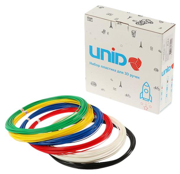 Набор пластика для 3D ручек Unid,