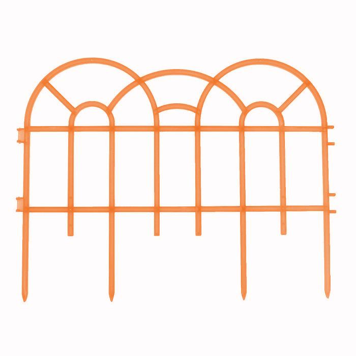 Декоративное ограждение Репка Готика оранжевый