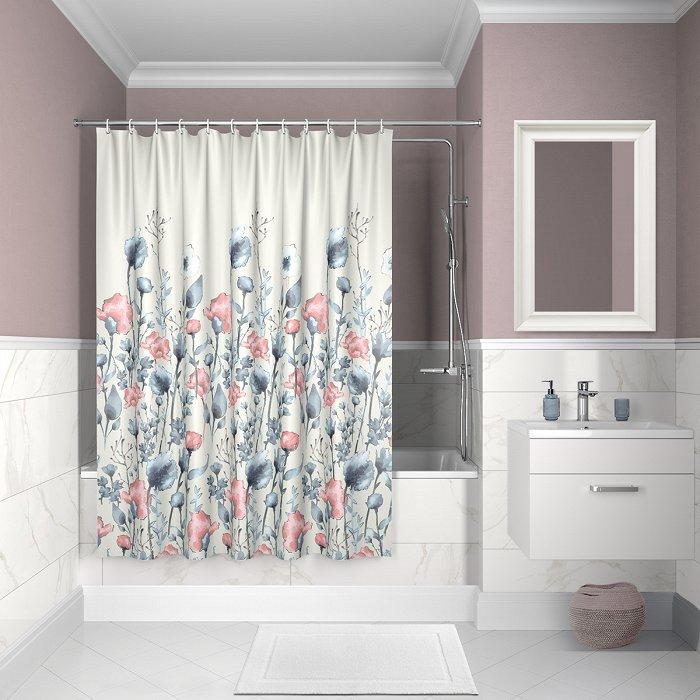 Штора для ванной комнаты IDDIS Décor D11P218i11