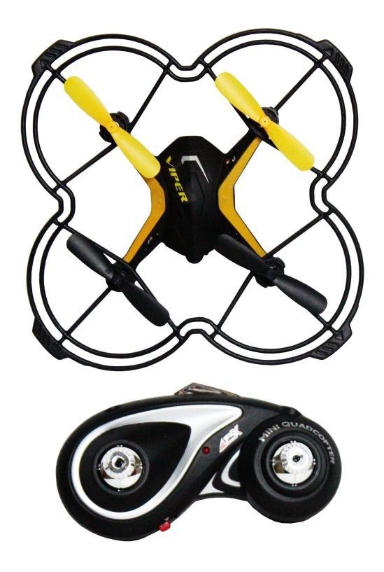 Купить Квадрокоптер 1 TOY GYRO-Viper Т58982, Квадрокоптеры для детей
