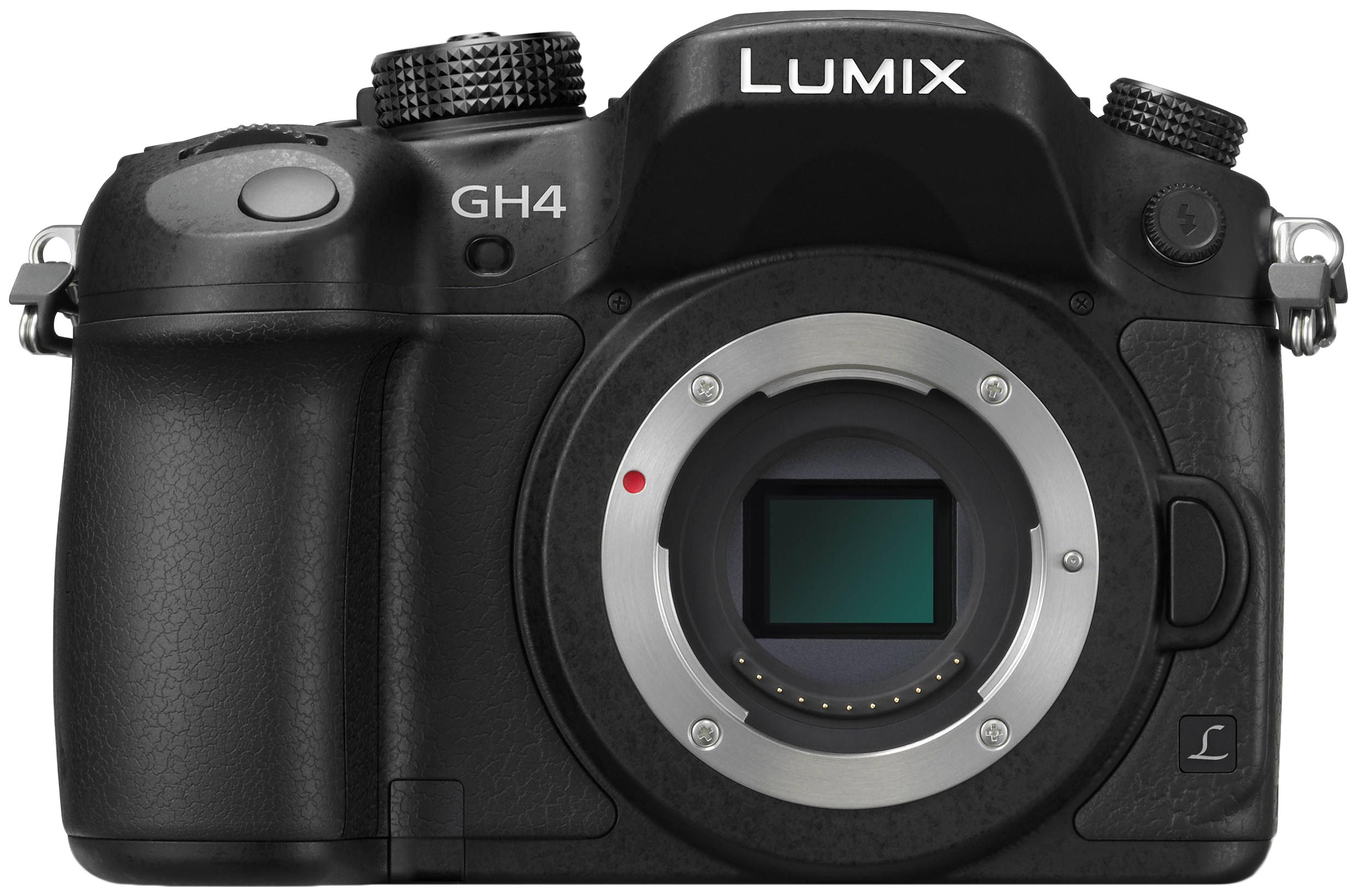 Фотоаппарат системный Panasonic Lumix DMC-GH4 Body Black фото