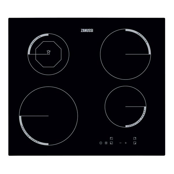 Встраиваемая варочная панель индукционная Zanussi ZEI5680FB Black