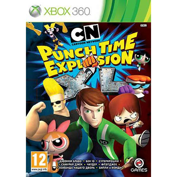 Игра Cartoon Network: Punch Time Explosion