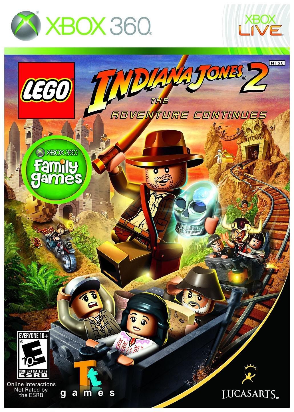 Игра LEGO Indiana Jones 2: The Adventure Continues для Xbox 360 фото