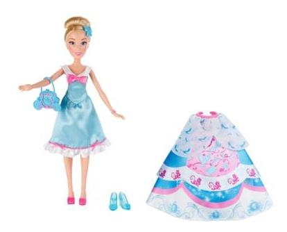 Купить Кукла Disney Золушка в платье со сменными юбками, Disney Princess, Классические куклы