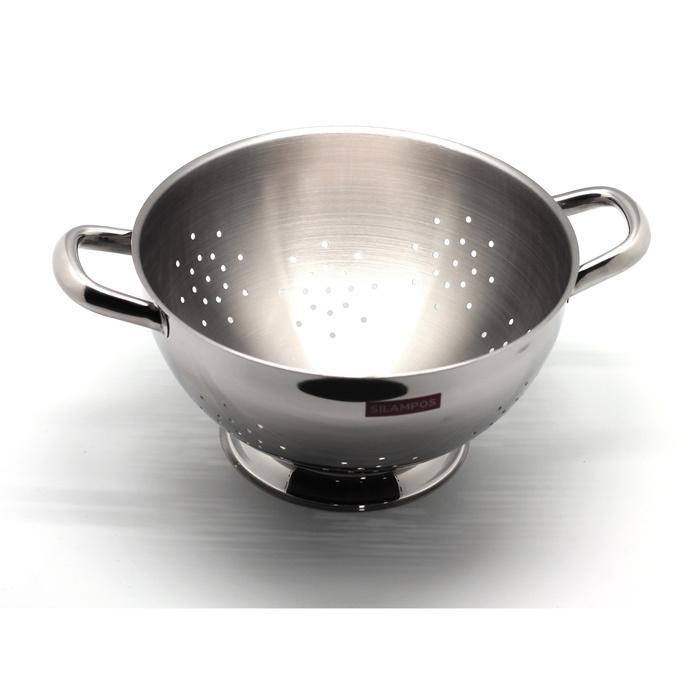 Дуршлаг Silampos Европа 631002323226 серый стальной
