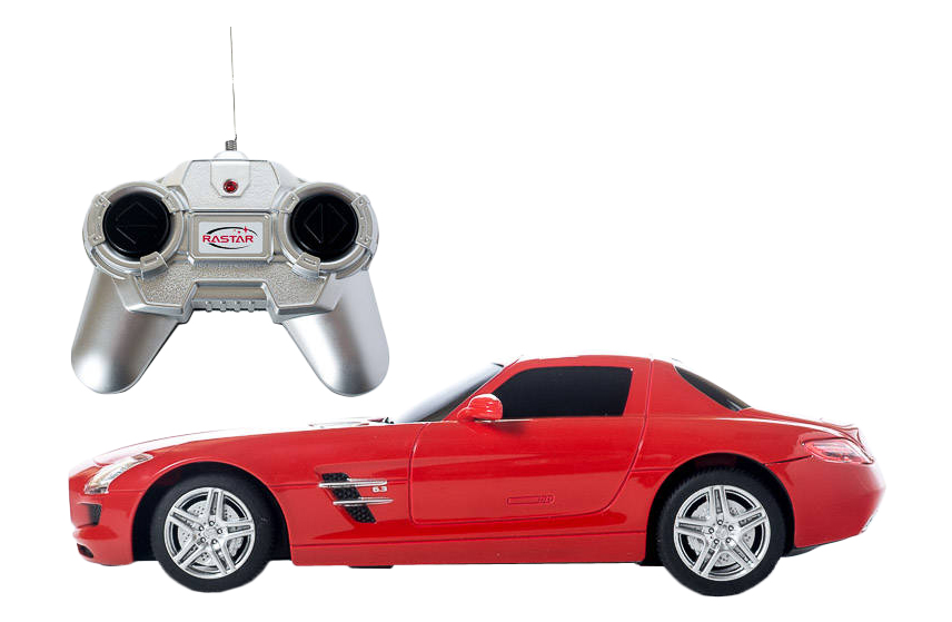 Купить Радиоуправляемая машинка RASTAR Mercedes SLS AMG 40100, Радиоуправляемые машинки