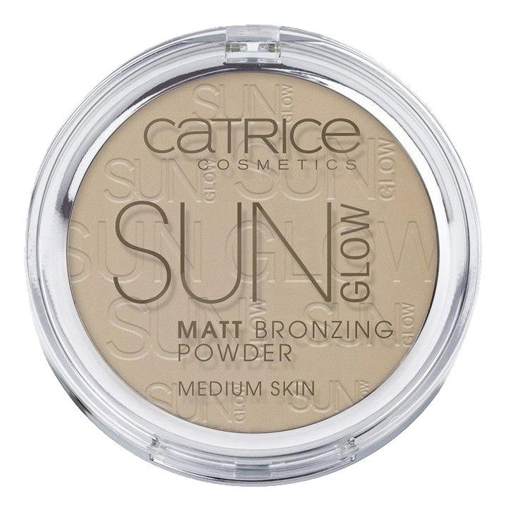 Бронзер для лица Sun Glow Matt Bronzing