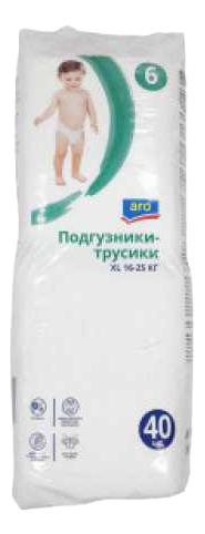 Подгузники трусики ARO XL, 40 шт.