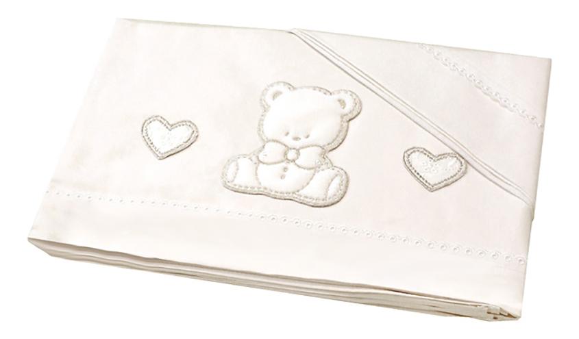 Комплект детского постельного белья Italbaby Amore белый