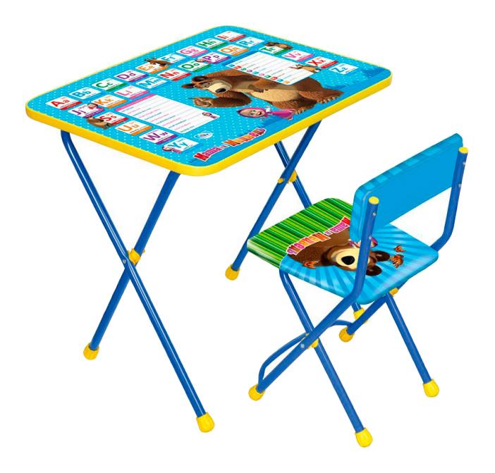 Комплект детской мебели Ника Маша и Медведь. Английская азбука