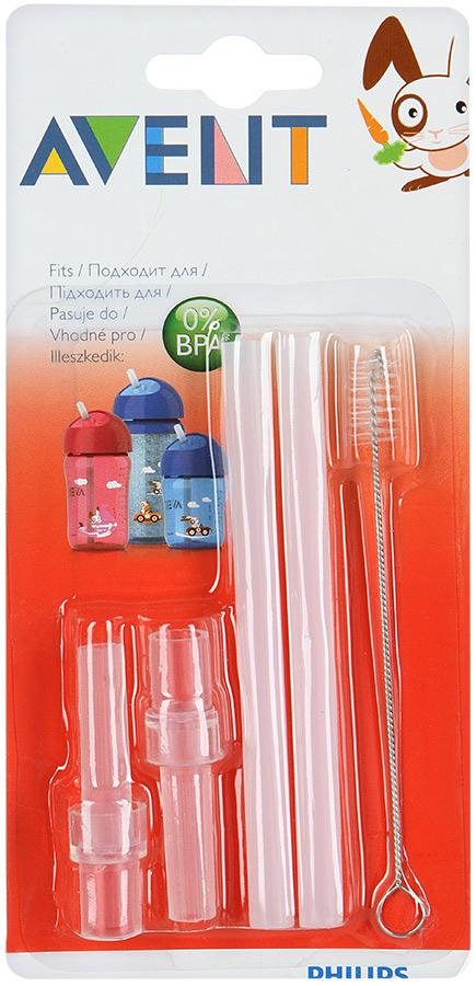 Купить Набор сменных трубочек Philips Avent 0 SCF797/00, Носики и трубочки для поильников