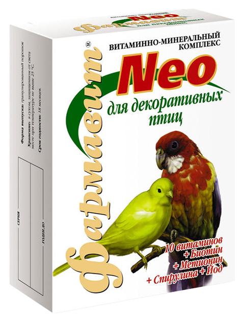 Витаминный комплекс для птиц Фармавит Neo,