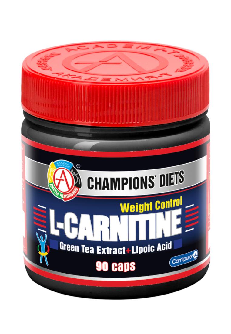 Академия-Т L-Carnitine Weight Control, 90 капсул фото