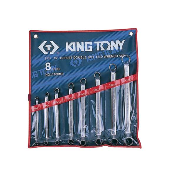 Набор накидных ключейKING TONY 6 23 мм